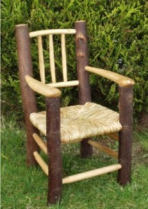 Childs chestnut chair