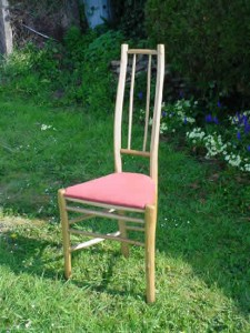 Tall narrow chair