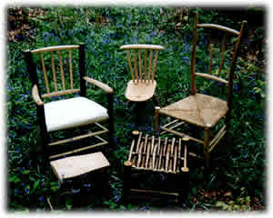 A selection of chairs