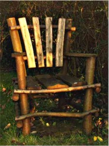 Another Rustic garden chair