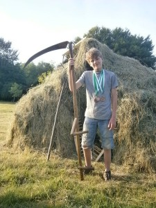 Adeon and his Scythe