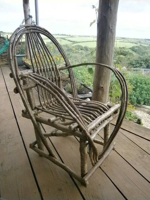 Bent Hazel Chair
